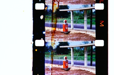 Gulf Gas Pump on 16mm